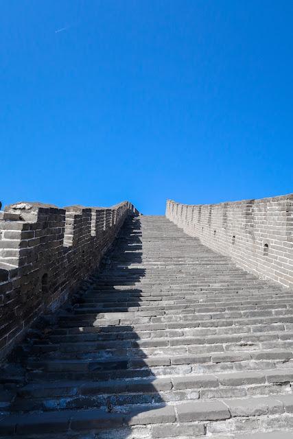 langit biru di tembok china