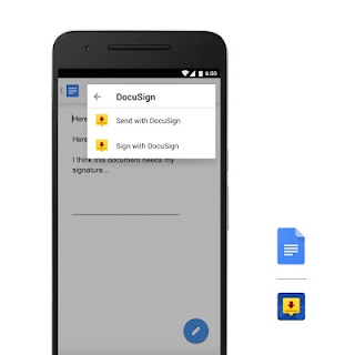 Google announces Android add-ons for Docs and Sheets