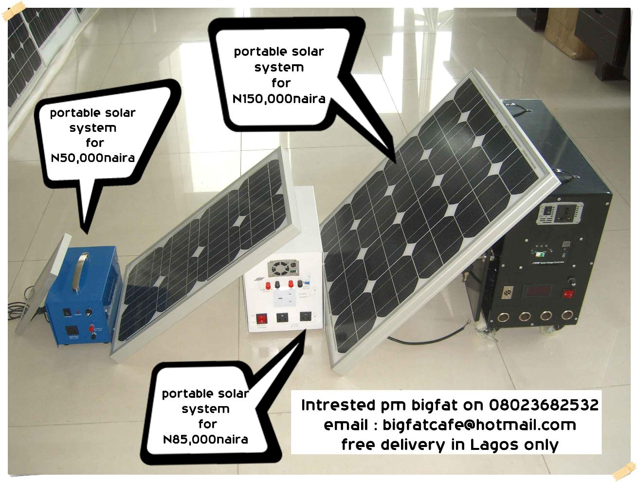 Welcome to Cheap and affordable Portable Solar power