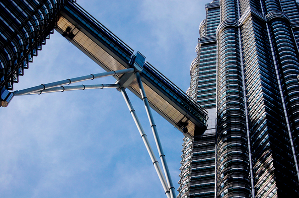 bowdywanders.com Singapore Travel Blog Philippines Photo :: Malaysia :: Petronas Twin Towers - Malaysia's Structural Icon