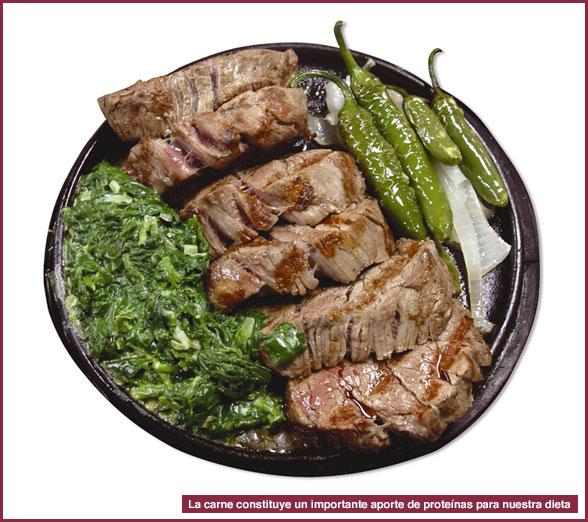 Dieta de la carne