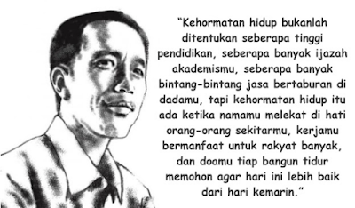 Kartu ucapan Kemerdekaan Presiden Joko Widodo