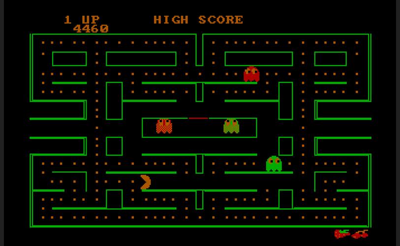 Pac Man Y Muchos Juegos De Atari En Linea Atariteca