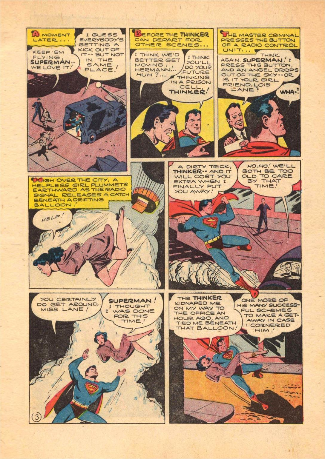 Read online Action Comics (1938) comic -  Issue #70 - 5