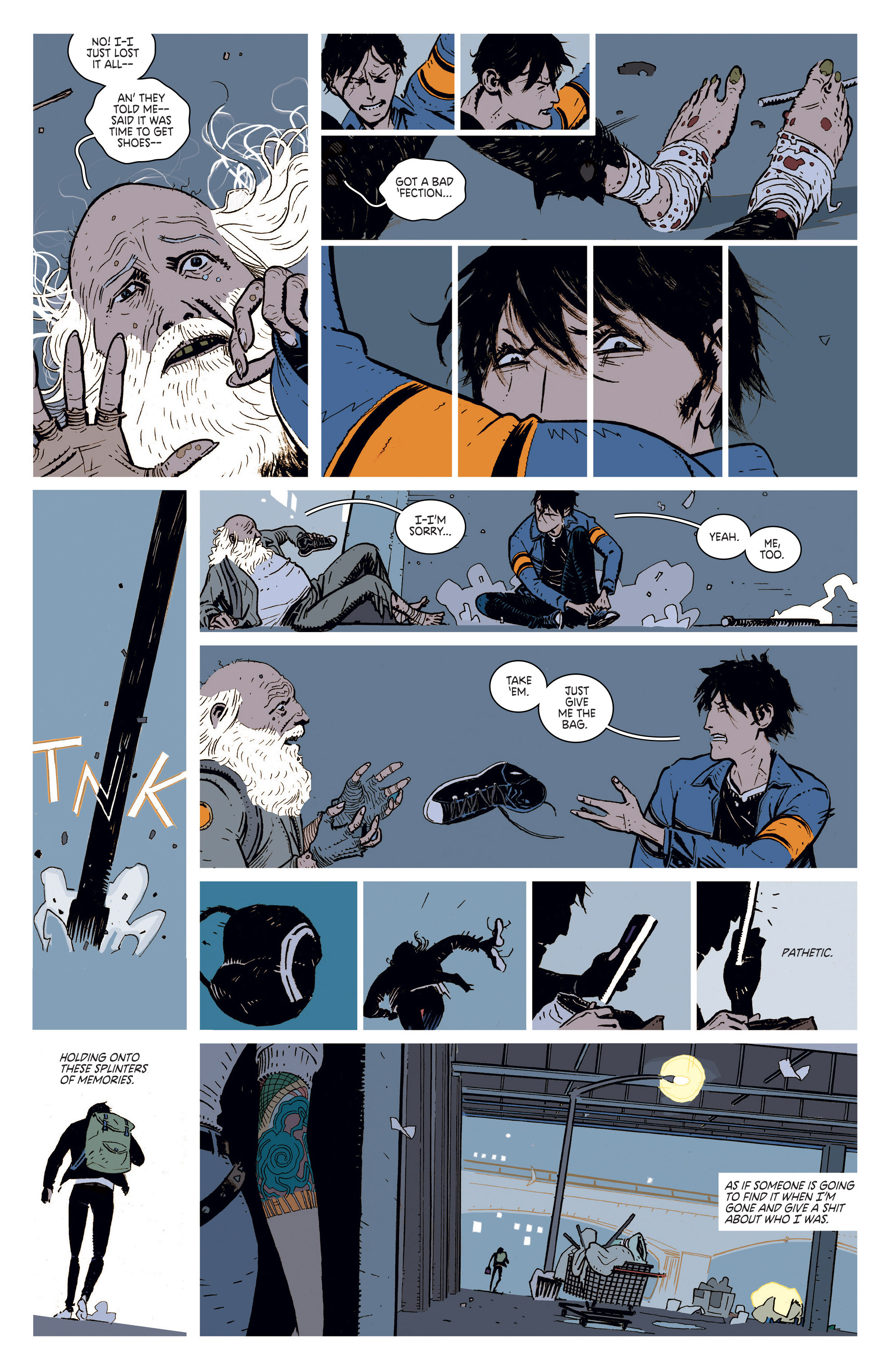 Read online Deadly Class comic -  Issue #1 - 8