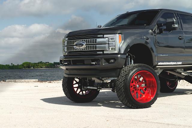 2017 Ford F250 Platinum on Fuel Wheels - #Ford #F250 #Platinum #Fuel #Wheels #tuning