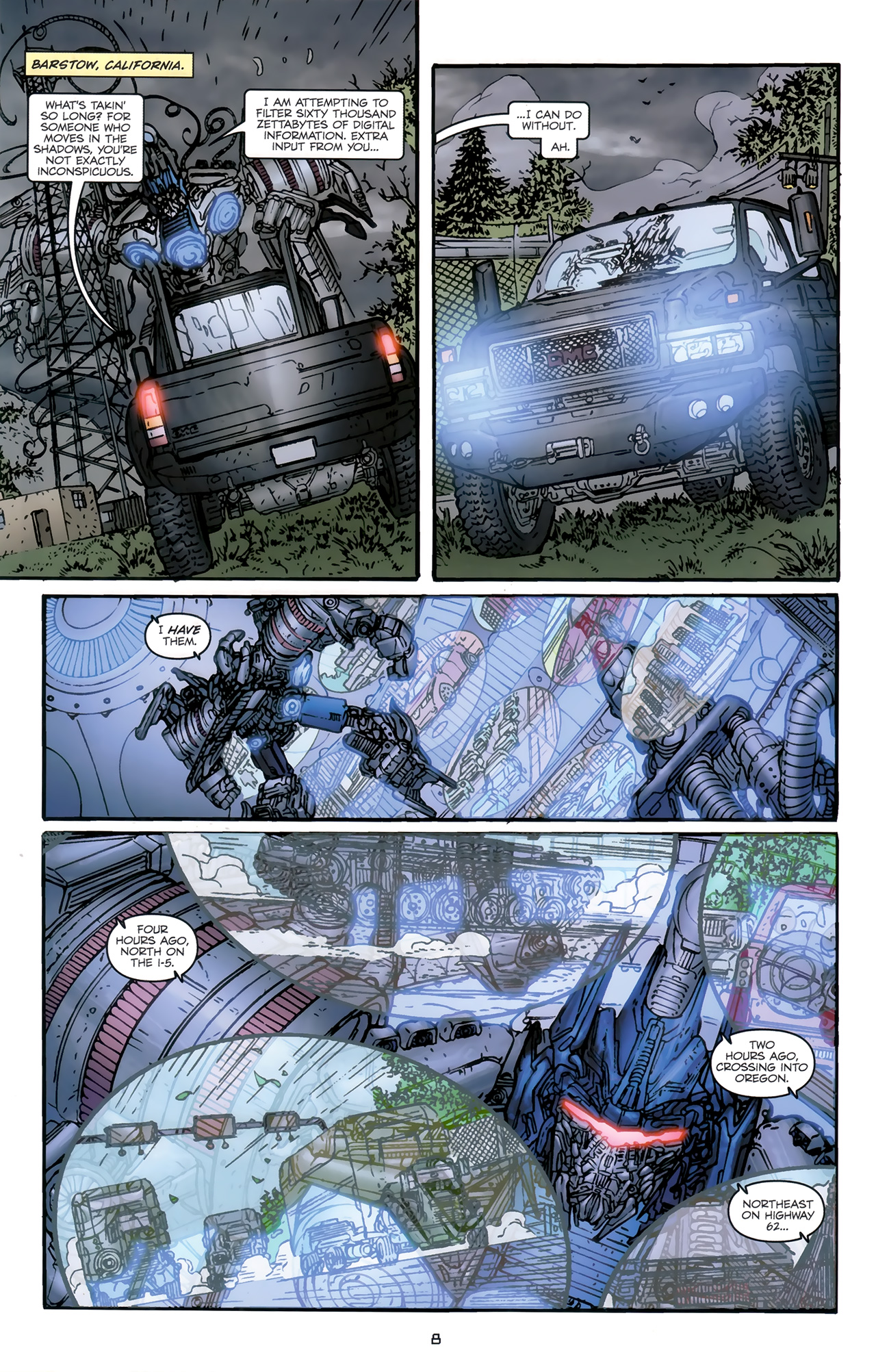 Read online Transformers: Nefarious comic -  Issue #5 - 11