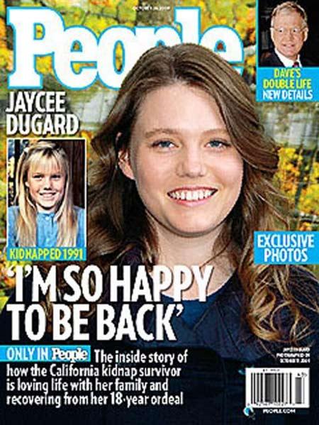 Jaycee Dugard Daughters Photos: Newstoday: Jaycee Lee Dugard