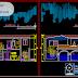 مخطط مشروع شقة دوبلكس اوتوكاد dwg