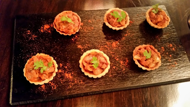 Murgh Do Piyaza Tartlets