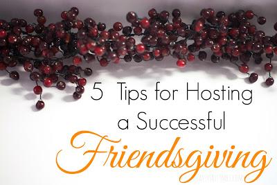 hosting friendsgiving