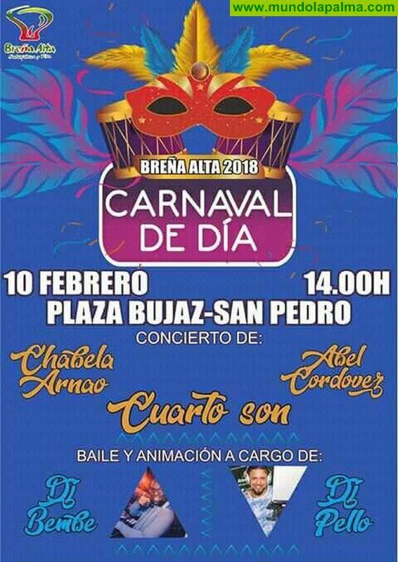 Carnaval Breña Alta 2018 Concierto