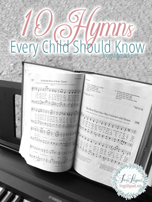 Hymns are part of our heritage and need to not be forgotten. Buried in the stanzas is the doctrine of the Christian faith. 10 Hymns Every Child Should Know.