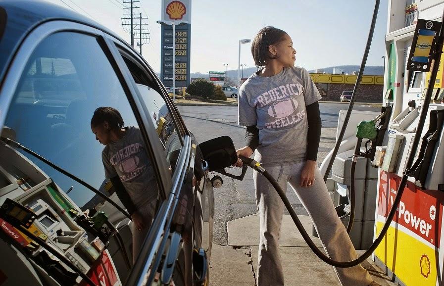 Como abastecer o carro nos Estados Unidos