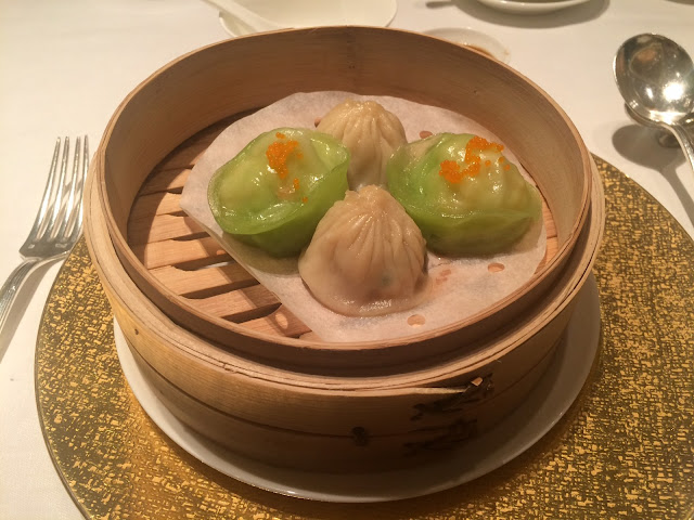 Shanghainese pork buns, Scallop dumplings at Shang Palace, Shangri-La Paris