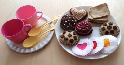Filcowe ciasteczka