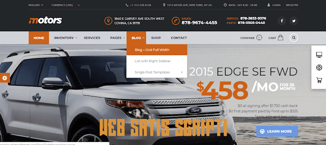 Web Ürün Satış Wordpress İlan Teması Ücretsiz  - Warez