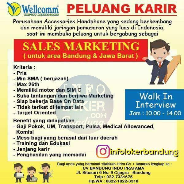 Lowongan Kerja CV Bandung Indo Pratama width=