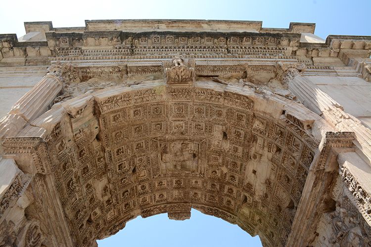 Arch of Titus in Rome, Italy | My Darling Days