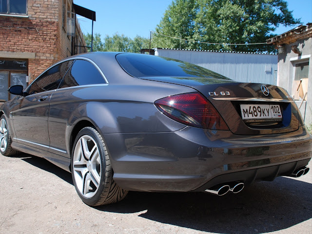 mercedes w216 cl 63 amg tyres