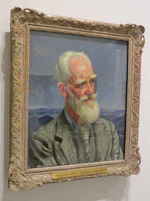 George Bernard Shaw (1856 - 1970) by Dame Laura Knight
