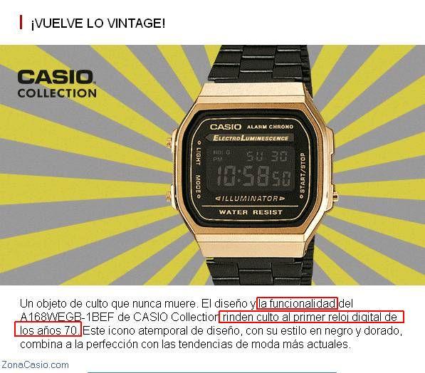 Zona De Casio¿es Moda Lo RetroiiPara CasioLos Real La 5jL43AR