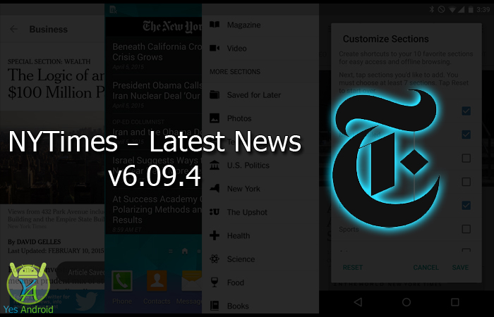 NYTimes - Latest News 6.09.4 APK Download