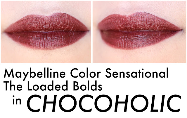 Maybelline Color Sensational The Loaded Bolds in Chocoholic