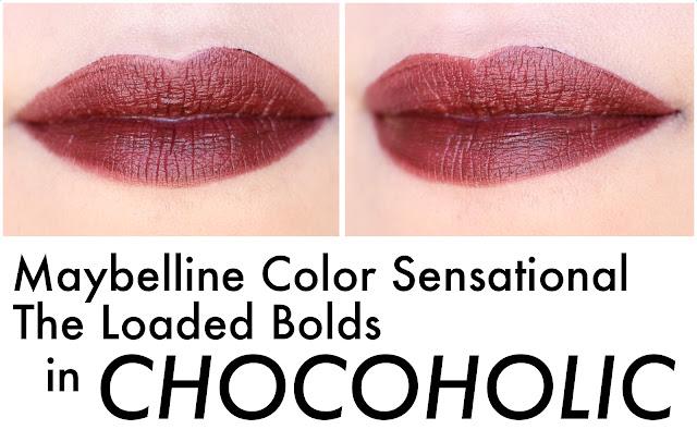 Maybelline Color Sensational The Loaded Bolds en Chocoholic