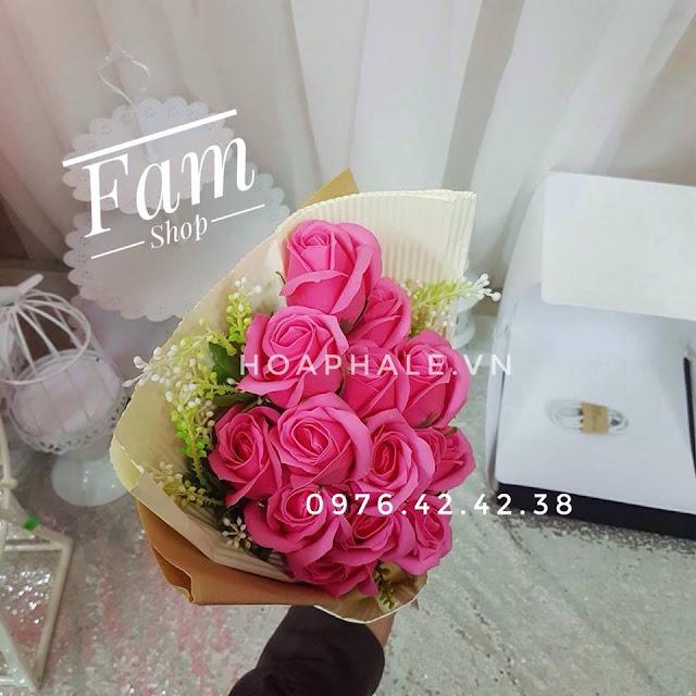 Hoa hong sap thom vinh cuu tai Dan Phuong