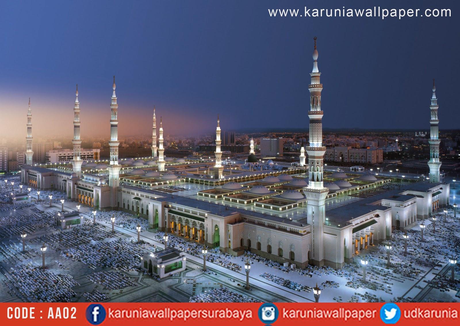 jual photowall islam