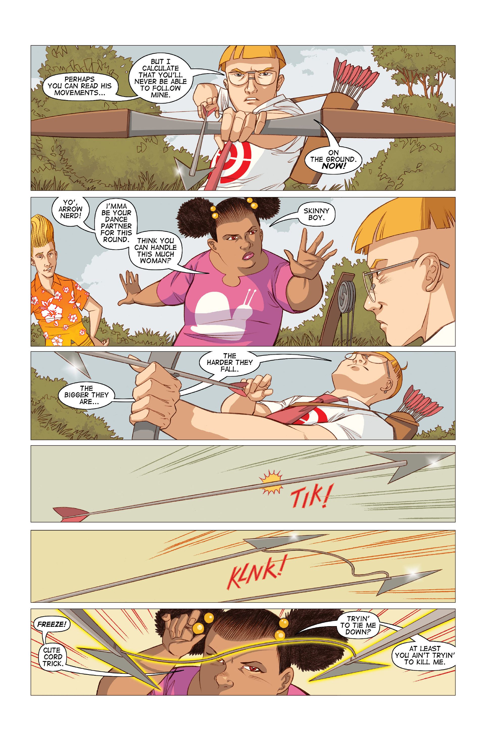 Read online Five Weapons comic -  Issue #10 - 11