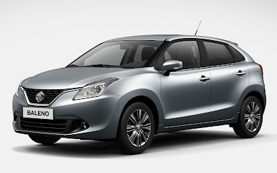 New 2016 Maruti Suzuki Baleno right side view