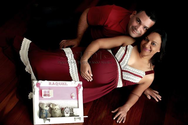 foto de gravida em estudio