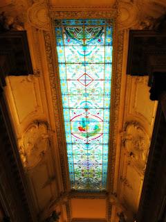 Vitral na Entrada do Teatro Colón, Buenos Aires
