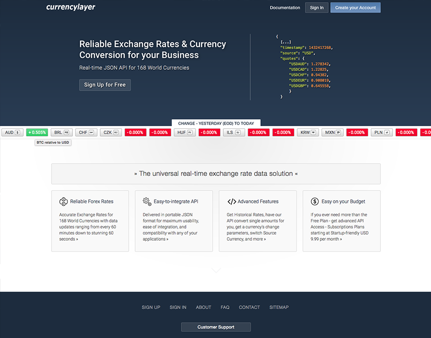 Free Currency Converter API - Blog: Alternatives to the Free