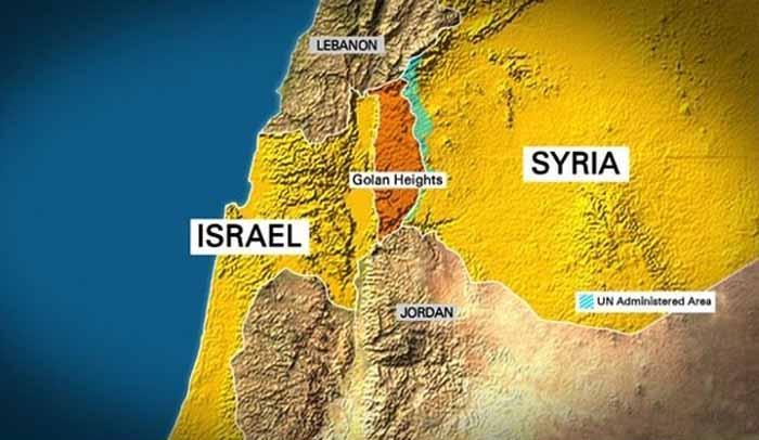 Israel Klaim Dataran Tinggi Golan, Dewan Keamanan PBB Menolak