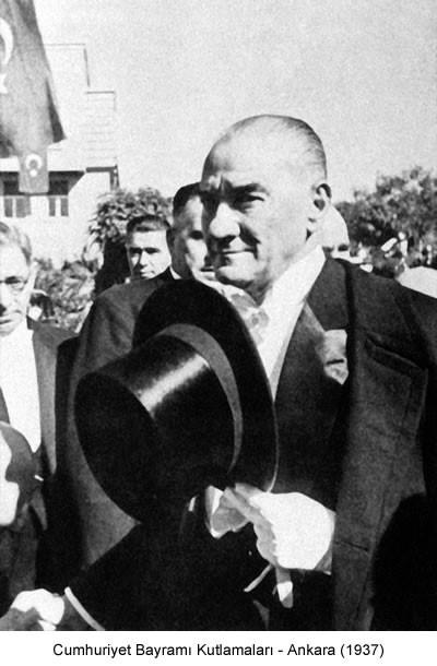 Atatürk Cumhuriyet Bayramı Kutlamaları 1937 Fotoğraf