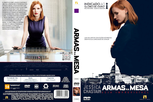 Capa DVD Armas na Mesa [Exclusiva]