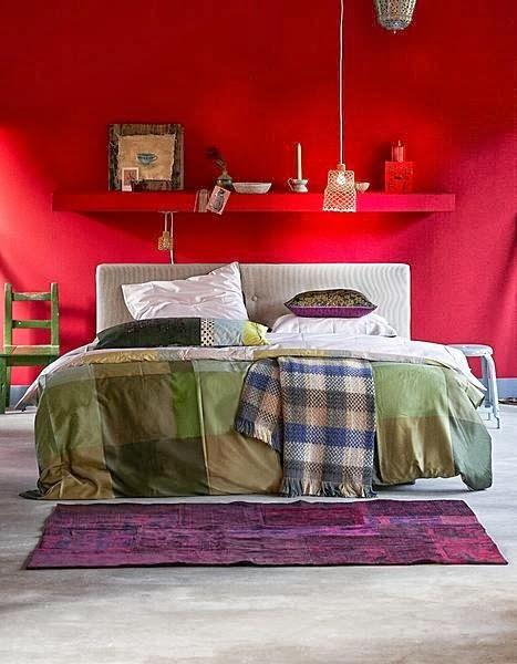 architettarte Idee per le pareti della camera da letto