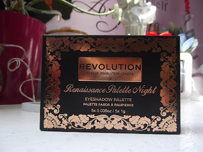 MAKEUP REVOLUTION LONDON RENAISSANCE PALETTE NIGHT