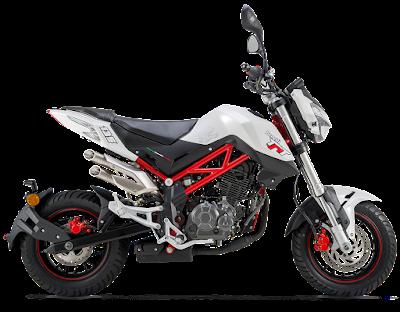 Benelli TNT 135 bike