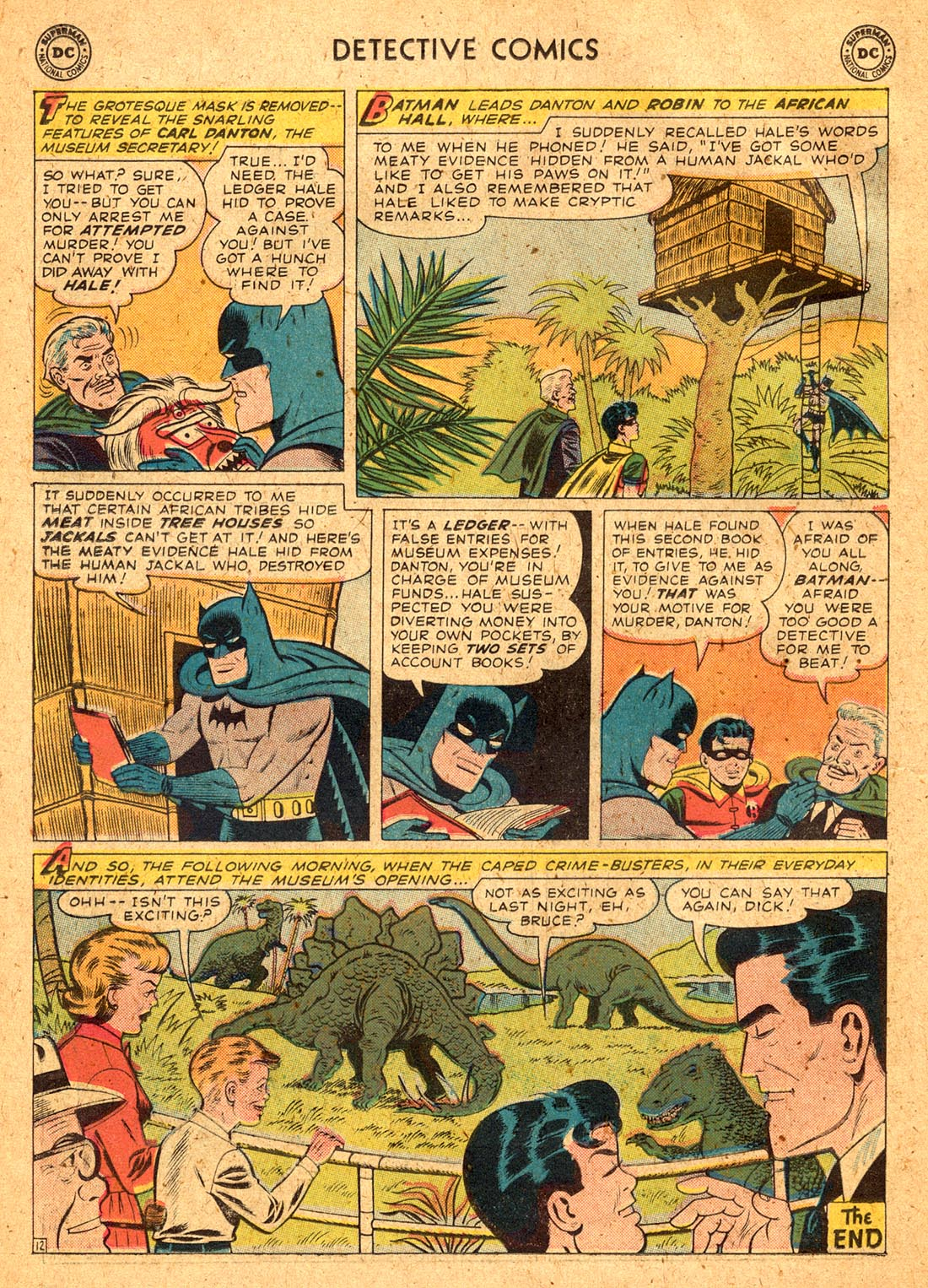 Read online Detective Comics (1937) comic -  Issue #255 - 14