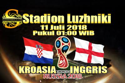 AGEN BOLA ONLINE TERBESAR - PREDIKSI SKOR PIALA DUNIA 2018 KROASIA VS INGGRIS  11 JULI 2018