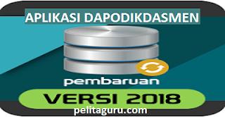 Aplikasi  Dapodik Versi  2018