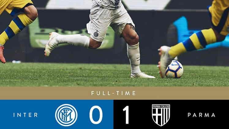 Hasil Internazionale vs Parma Skor Akhir 0-1 [Serie A 2018]