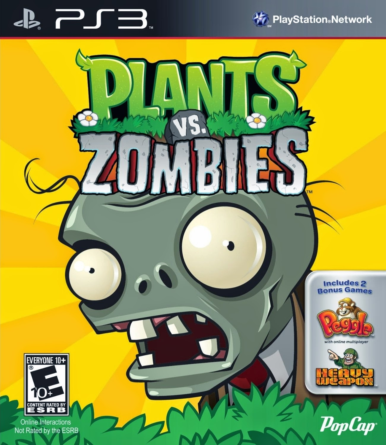 PLANTS VS ZOMBIES PS3