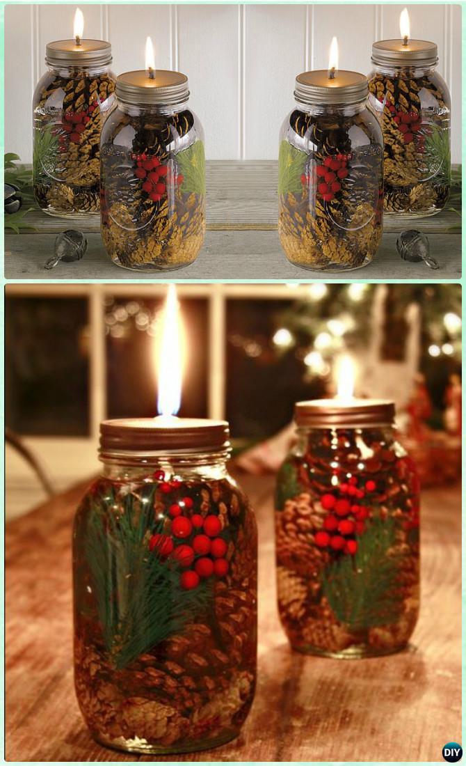 12 DIY Christmas Mason Jar Lighting Craft Ideas | Do it ...