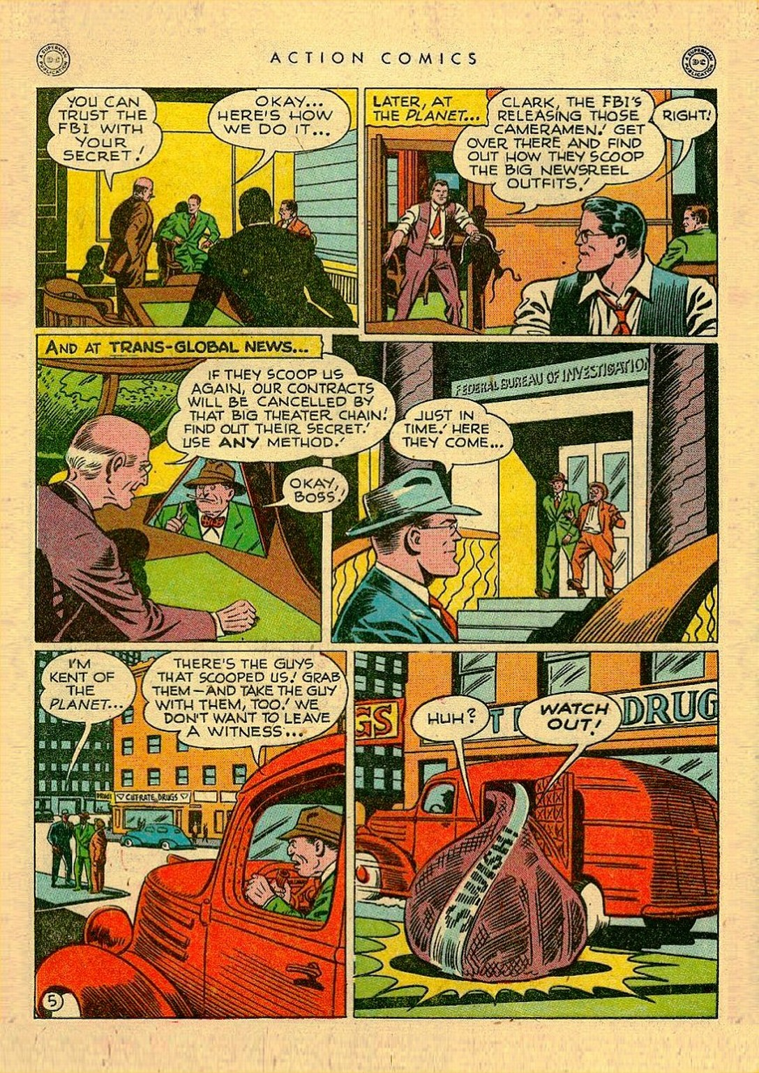Read online Action Comics (1938) comic -  Issue #111 - 7
