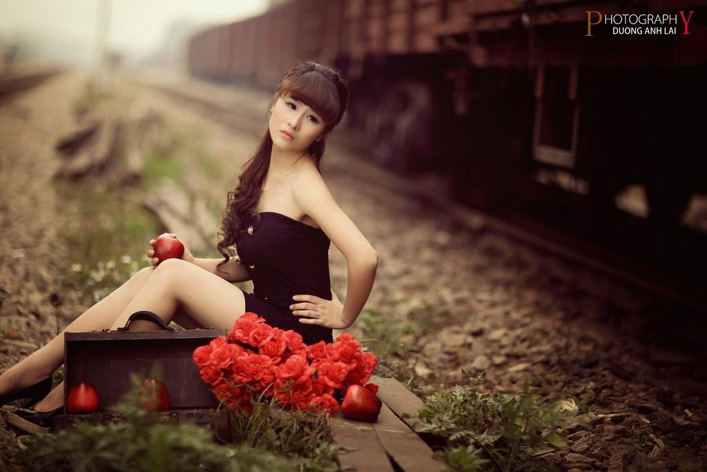 Ảnh đẹp girl xinh HD Việt Nam: Bóng hồng - Ảnh 13